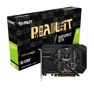 Palit GeForce GTX 1660 6GB StormX Boost Graphics Card £174 from CCL/Ebay