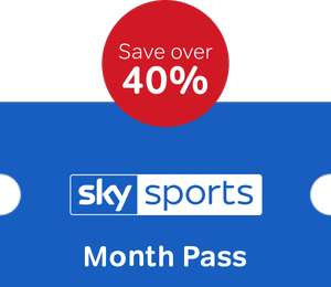 Now TV Sky Sports Month Pass £20 for one month @ Now tv