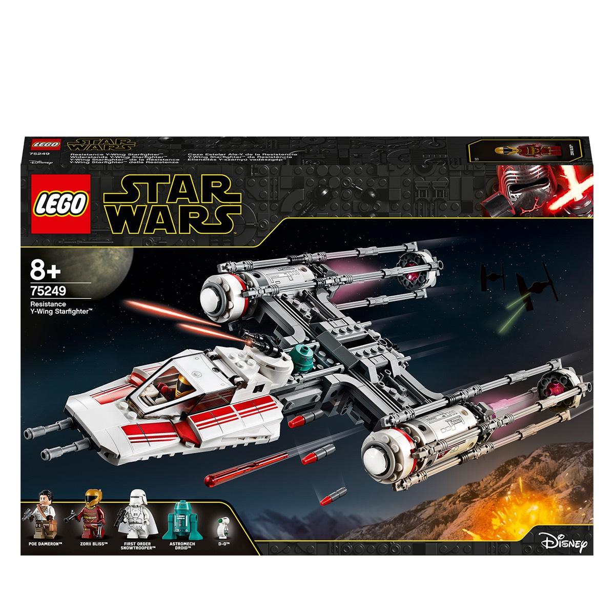LEGO 75249 Star Wars Resistance Y-Wing Starfighter £47.99 @ Amazon