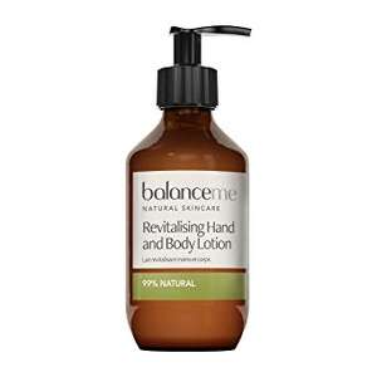 Balance me hand & body lotion 280ml 1/2 price £6.25 in Sainsbury's (Leeds)