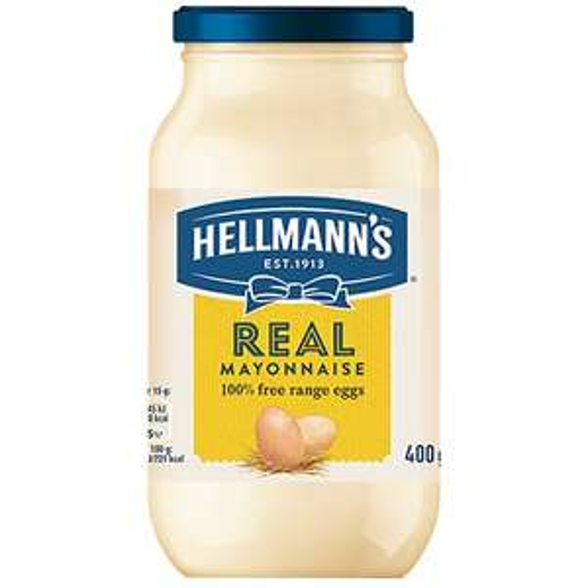 Hellmann's Mayonnaise 400g 2 for £1.50 @ salford shopping centre Fulton Foods
