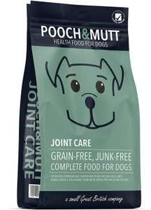 Pooch & Mutt Joint Care Dog Food (Grain Free & 100% Natural) - Turkey & Sweet Potato 2kg now £8.59 (Prime) + £4.49 (non Prime) at Amazon