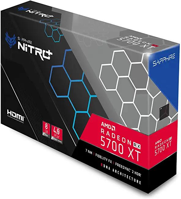Sapphire Nitro+ Radeon RX 5700 XT 8G GDDR6 Dual HDMI/Dual DP OC (Uefi) (Used Like New) £312.81 @ Amazon warehouse