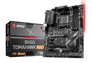 MSI B450 TOMAHAWK MAX ATX Motherboard for AMD AM4 CPU £92.69 at cclcomputers eBay