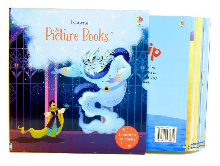 Usborne 12 Classics Picture Books Collection Box Set £12.99 Delivered @ Books2Door