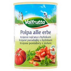 6 Cans of Valfrutta Chopped Tomatoes with herbs 99p at Aldi Ruabon
