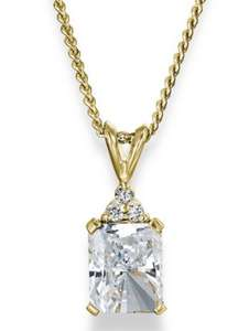 Sale Up To 75% at Tru Diamonds e.g. Diamond Inspiration Pendant £69