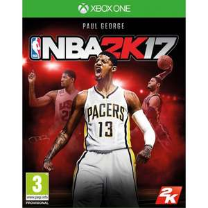 NBA 2K17 now £2.95 delivered at The Game Collection
