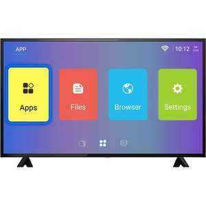 "ElectriQ 50"" 4K Ultra HD Android Smart HDR LED TV with Freeview HD £237.97 / ElectriQ 55"" also reduced to £279.97 @ Laptops Direct"