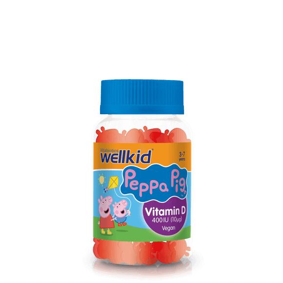 Wellkid Peppa Pig Vitamin D £3 for 2 £9.74 at Vitabiotics