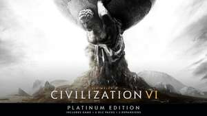 (PC) Civilisation VI - Platinum Edition - Main Game plus all dlc and expansions £22.99 for Steam on MacGameStore