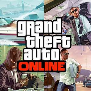Receive $2,000,000 GTA for free when playing GTA Online @ GTA Online
