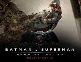 Batman V Superman, Dawn of JusticeThe Art of the Film £4.99 (£1 delivery) @ Forbidden Planet