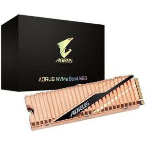 AORUS 500GB NVME PCIE GEN4 M.2 Solid State Drive (GP-ASM2NE6500GTTD) - £99.95 Delivered @ Overclockers