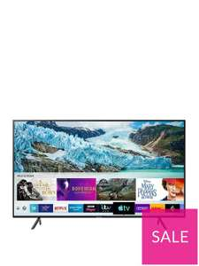 """Samsung 43"""" 4k Ultra HD Smart TV - £329 (£264.19 With BNPL Code - Account / Signup Required) Delivered UE43RU7100 + 55"""" £320 With CB @ Very"""