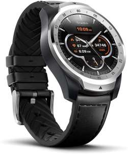 Ticwatch Pro Silver Smartwatch with Layered Display for Long Battery Life, NFC, Sleep Tracking Wear OS - £154.18 @ Amazon - Mobvoi / FBA