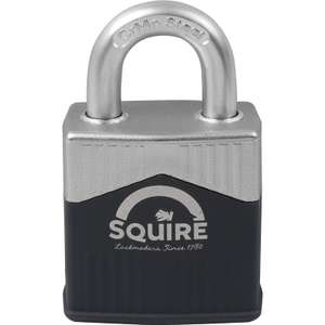 Squire Warrior Steel Padlock 45mm £10.99 at Screwfix - Free collection available