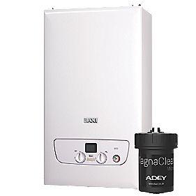 Baxi 825 compact combi boiler includes Adey Magnaclean filter @ Screwfix £879.99