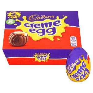 Cadbury's Creme egg or Caramel Egg 5 Pack £1.65 or 2 packs for £2 at Tesco