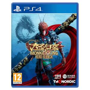 Monkey King: Hero is Back PS4 C+C £9.99 @ Smyths