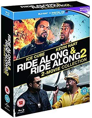 Ride along 1 & 2 blu ray/digital download £4.99 @ Amazon prime (£2.99 p&p non prime)