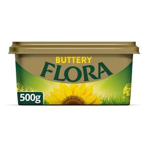 FLORA Buttery Spread 500g £1 Morrisons