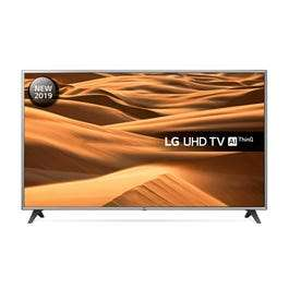 """LG 75UM7000PLA 75"""" Smart 4K Ultra HD HDR LED TV, 6 year warranty £799 with code @ RicherSounds"""