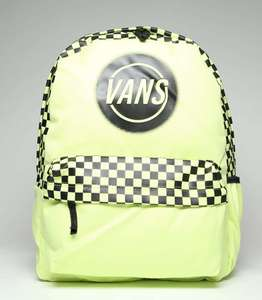 Vans off realm backpack Lime £14.99 @ schuh (C+C to store or add £1 delivery)
