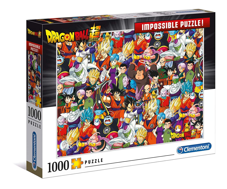 Clementoni 39489 Dragon Ball 1000 Piece Impossible Puzzle £3.81 Prime / £8.30 Non-Prime at Amazon