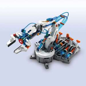 CONSTRUCT & CREATE The Source Wholesale Hydraulic Robot Arm 229 Pieces £20.00 @ MenKind - free click & collect