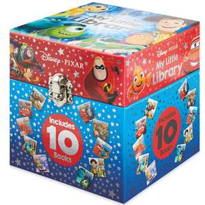 Disney Pixar little library reduced to 99p instore at Aldi Sheffield - Includes 10 Pixar books