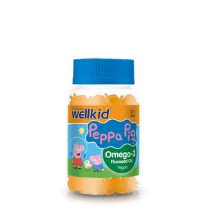 Wellkid Peppa Pig Omega-3 3 for 2 - £11.84 at vitabiotics