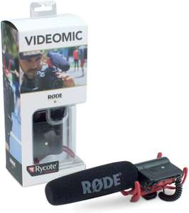 RØDE Camera and Audio VideoMic with Rycote Lyre Mount now £50.50 delivered at Amazon
