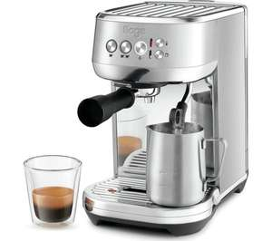 SAGE The Bambino Plus SES500BSS Coffee Machine - Stainless Steel £199 at Currys PC World