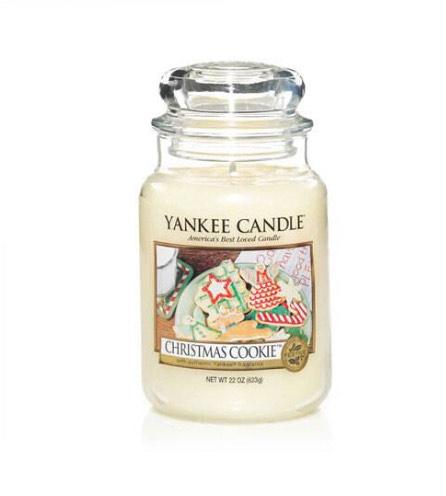Large Christmas Cookie Yankee candle £7.20 at Debenhams Liverpool