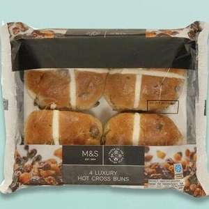 £1 Hot Cross Buns (Various flavours) @ Marks & Spencer