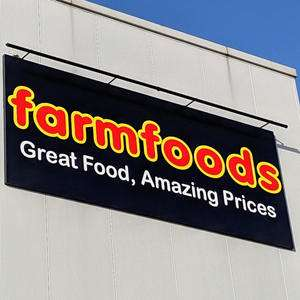 50% off everything in Farmfoods Spennymoor today only