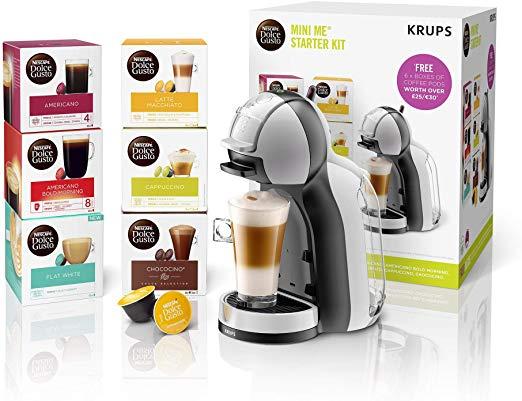 Nescafe Dolce Gusto Mini Me Automatic machine + 8 boxes of Pods £49.99 @ Nescafe Dolce Gusto