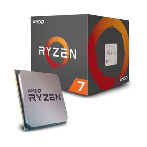 AMD Ryzen 7 2700 Processor with Wraith Spire RGB LED Cooler £129 - Dispatched from and sold by CPU-WORLD-UK LTD on Amazon