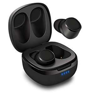 August EP800 TWS water-resistant Earphones with Portable Charging Case for £23.96 with delivery sold by Daffodil UK and Fulfilled by Amazon