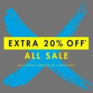 Extra 20% off m&co sale - Discount applied at checkout