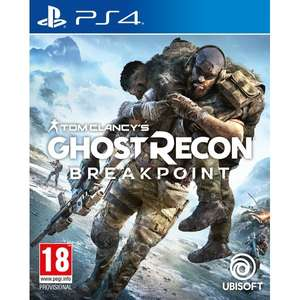 [PS4] Tom Clancy's Ghost Recon Breakpoint - £17.99 delivered @ 365games