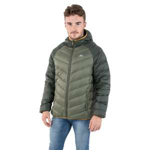 Trespass Rusler Hooded Down Jacket (3 colours) now £34.99 + Free delivery with code @ Trespass