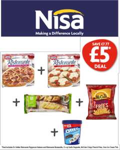 Nisa Retail Stores - £5 Meal Deal - Feed the Family