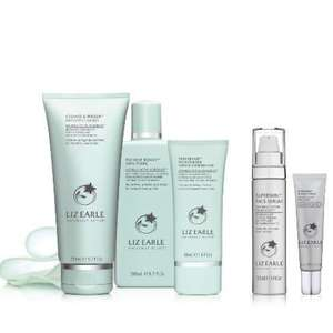 Liz Earle 3-step Daily routine set now £41.65 with code + FREE gifts worth £61 @ Liz Earle