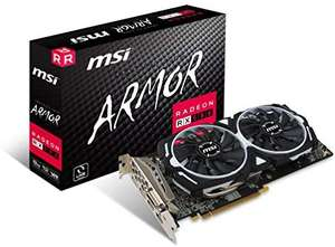 MSI RADEON RX 580 ARMOR 8G OC Graphics Card £125.43 (like new) @ Amazon Warehouse