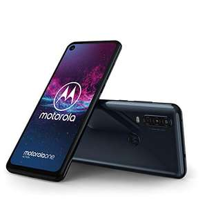 """Motorola One Action Dual SIM Smartphone 6.3"""" 12MP+5MP Dual Camera + 16MP Video Mode, 128GB/4GB, Android 9.0 £148.82 @ Amazon Germany"""