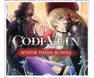 CODE VEIN WINTER - BUNDLE Theme (PS4) Free @ Bandai Namco
