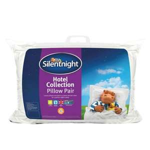 Silentnight Hotel Collection Pillow Pair £7.99 instore @ Poundstretcher