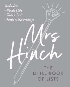 Mrs Hinch: The Little Book of Lists (pre-order) £6.49 @ Amazon